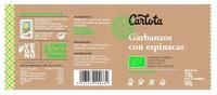 Garbanzos con Espinacas - Ingredientes