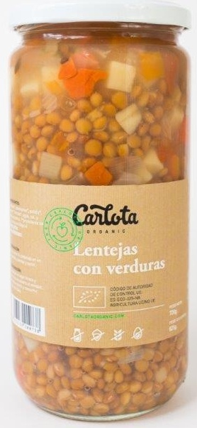Lentejas con Verduras - Product - es