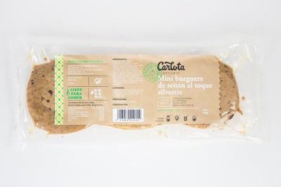 Mini Burguers de Seitán al toque Silvestre ecológicas - Produit - es