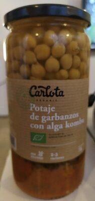 Potaje de garbanzos con alga kombu - Product