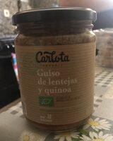 Guiso de lentejas y quinoa - Product