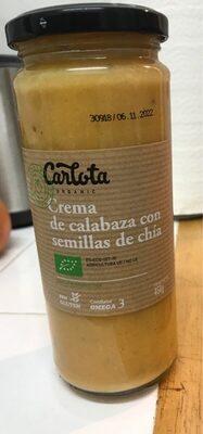 Crema de calabaza con chia - Product