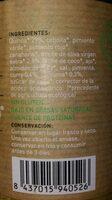 Quinoa con verduras, cúrcuma y salsa curry - Nutrition facts