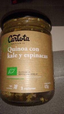Quinoa con Kale y Espinacas