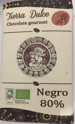 Chocolate gourmet 80% negro