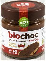Biochoc Bayas Goji con Aceite de Oliva Virgen Extra Ecológico - Producte