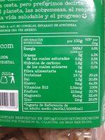 Bocados originales - Informations nutritionnelles - es