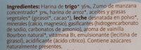 Biocookies baby - Ingredientes - es