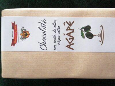 Chocolate con aceite de oliva origen extra AGÁPE