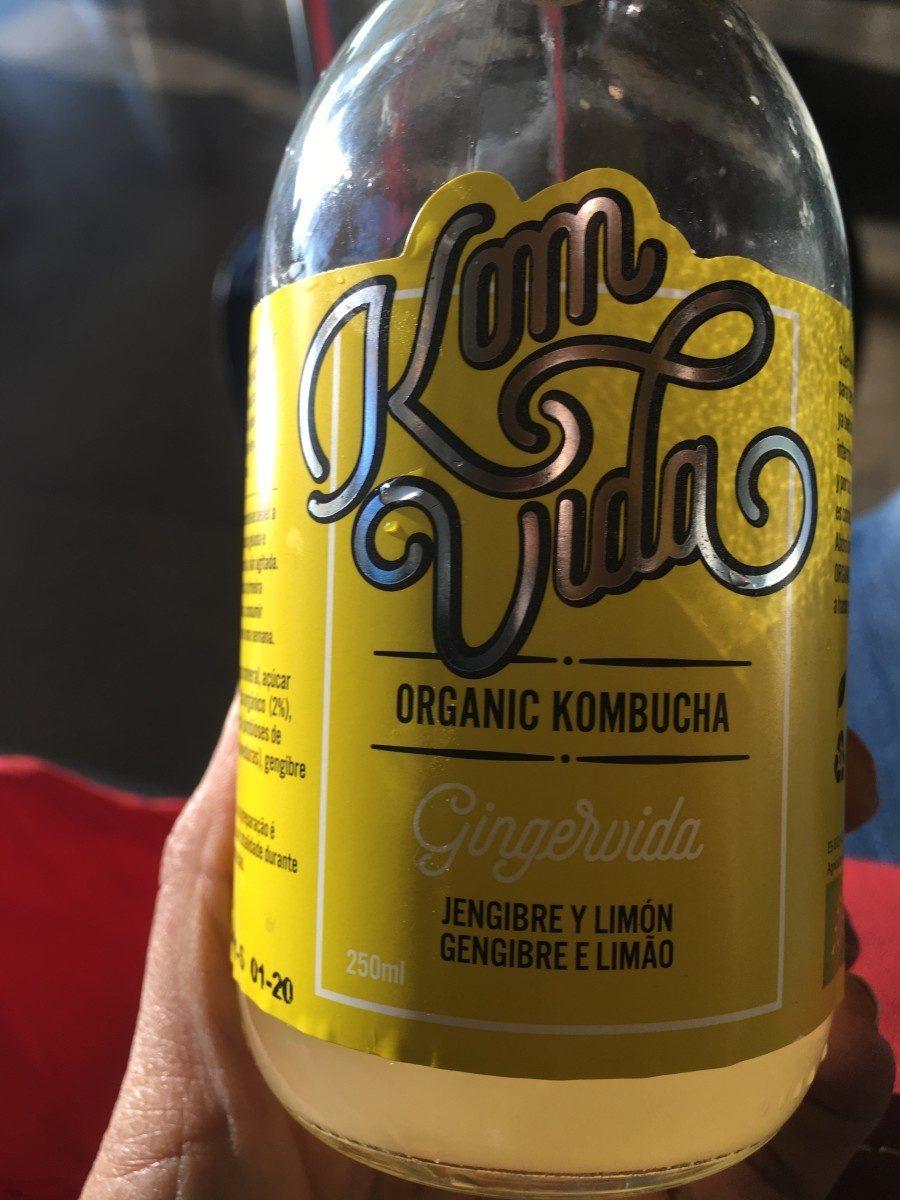 Kombutcha jengibre y limon - Produit - fr