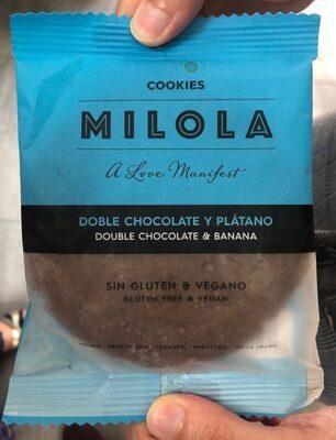 MILOLA Doble chocolate y plátano - Produit - es