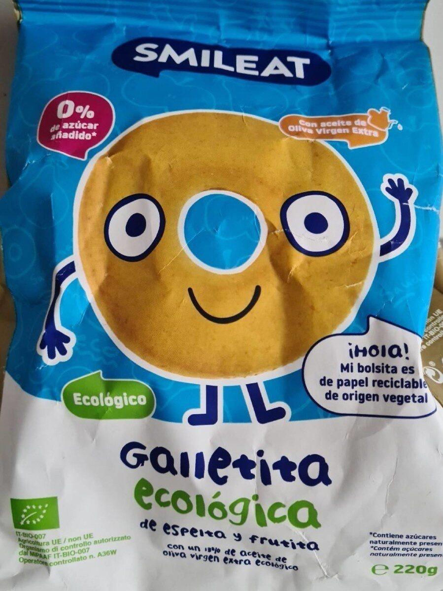 Galleta ecológico Smileat - Product - es