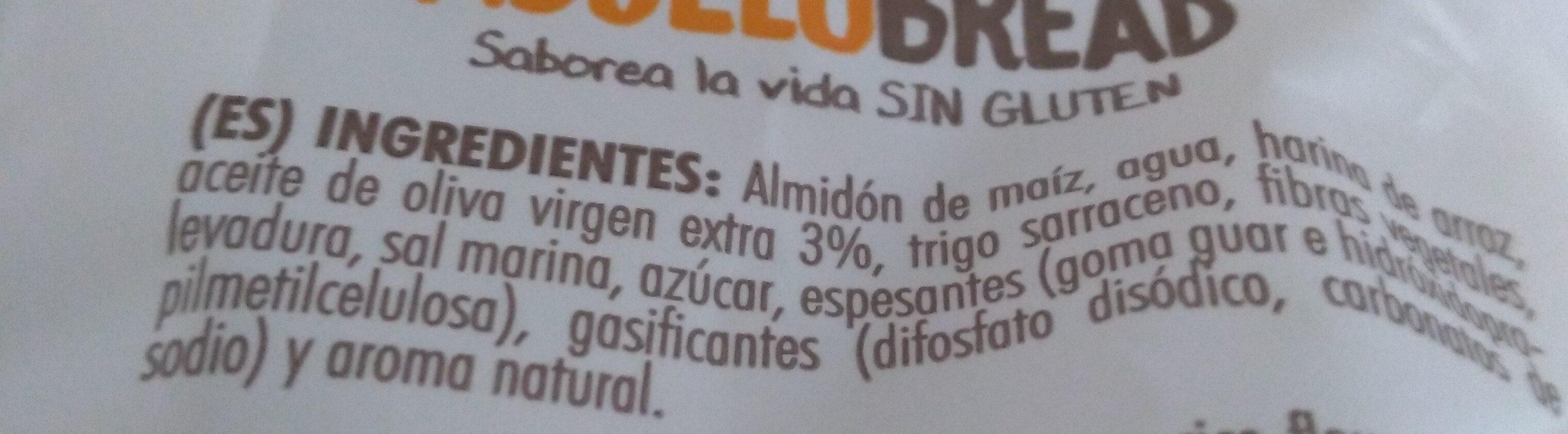 Picos artesanos sin gluten - Ingredientes - es
