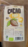 cacao puro bio - Producto