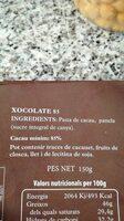 Xocolate 85 - Ingrédients - es