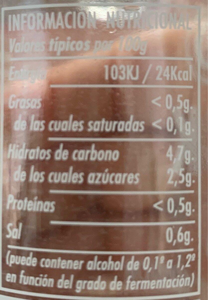 Green bliss - Información nutricional - es