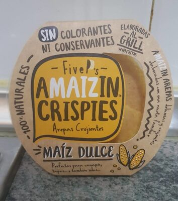 Amaizin Crispies Maíz dulce - Product - es