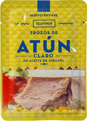 Trozos de atún en aceite de girasol - Producto - es