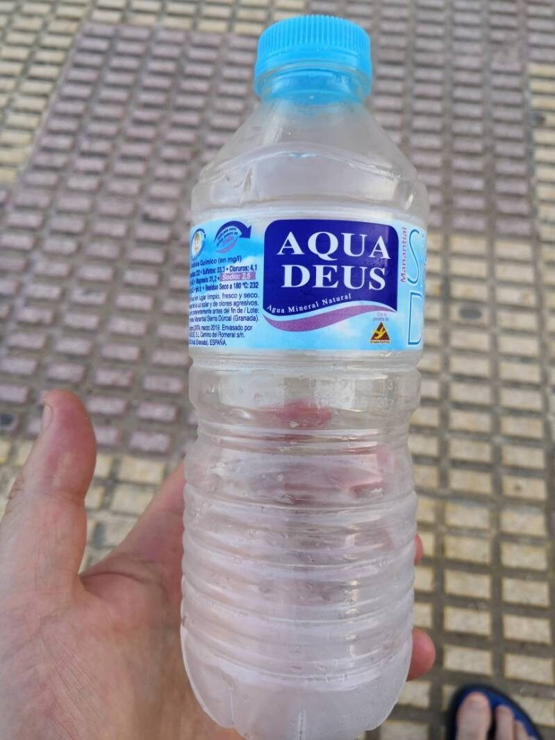 Agua mineral - Producto - es