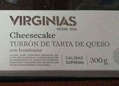 Cheesecake turrón de tarta de queso - Product - es