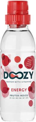 Doozy water with vitamins Energy