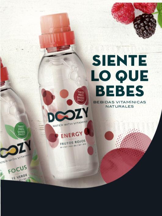 Doozy water with vitamins Energy - Información nutricional