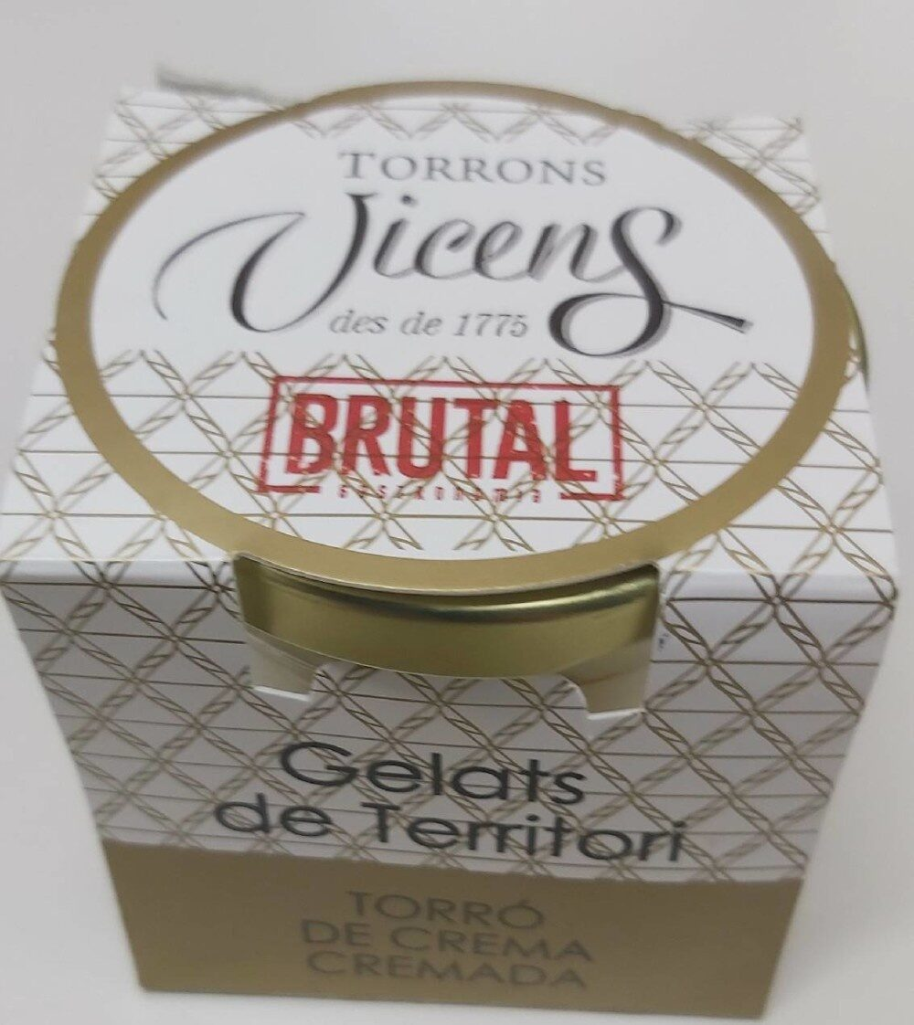 Toro de crema cromada gelat - Producte - es