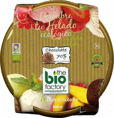 Helado chocolate 70% - Product