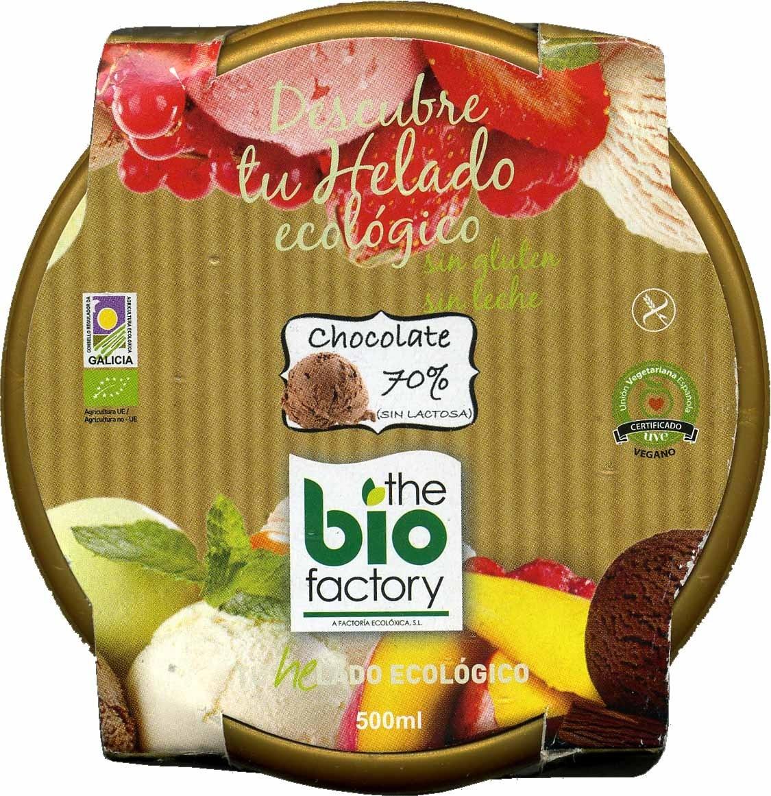 Helado chocolate 70% - Produit - es