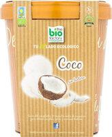 Helado ecológico de coco sin gluten y sin lactosa tarrina - Produit - es