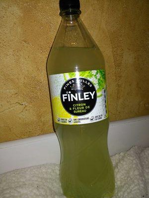 finley citron et fleur de sureau - 1,5l