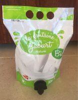 La fontaine à yaourt nature - Produit