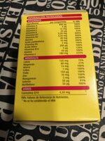 Supradyn - Nutrition facts
