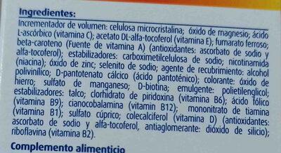 Pharmaton mujer - Ingredients - es
