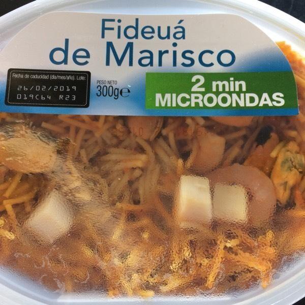 Fideuá de Marisco - Produit - en