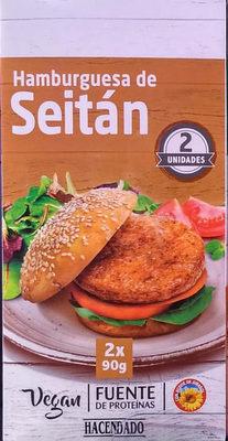 Hamburguesa De Seitán - Hacendado - 180G - Product