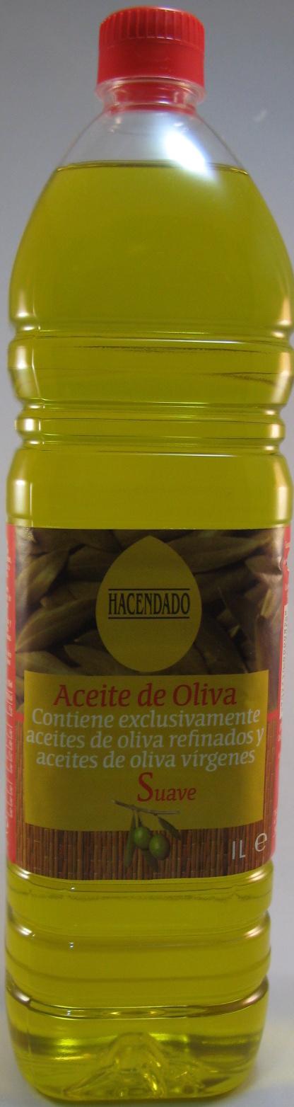Aceite de oliva sabor suave - Producto