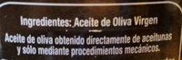 Aceite de oliva virgen - Ingredients - es