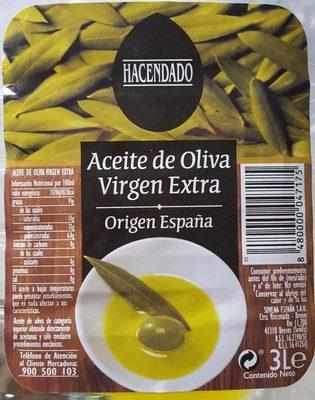 Aceite de oliva virgen extra - Producto