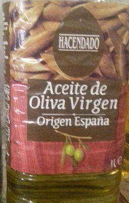 Aceite de oliva virgen - Producte