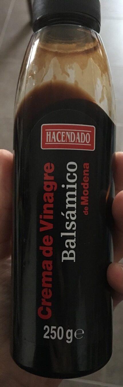 Crema de vinagre balsámico - Producto