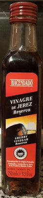 Vinagre de jerez reserva - Producto - es