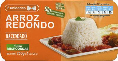 Arroz cocido redondo - Product - es