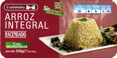 Arroz cocido integral - 8