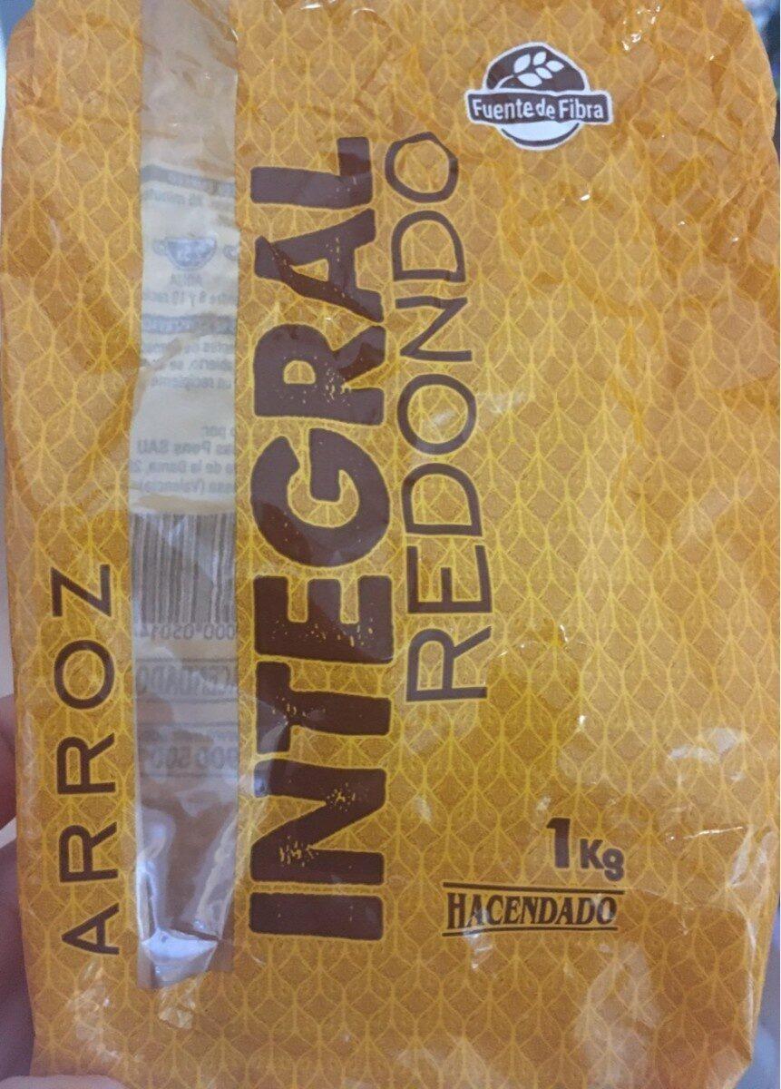 Arroz integral redondo - Product - es