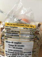 Mezcla de arroces Especial ensaladas y guarnición - Ingrédients - fr