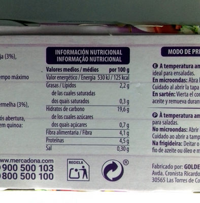 Quinoa blanca y roja - 4