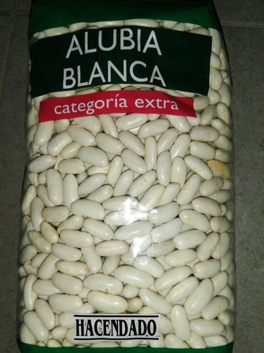 Alubia blanca - Produit