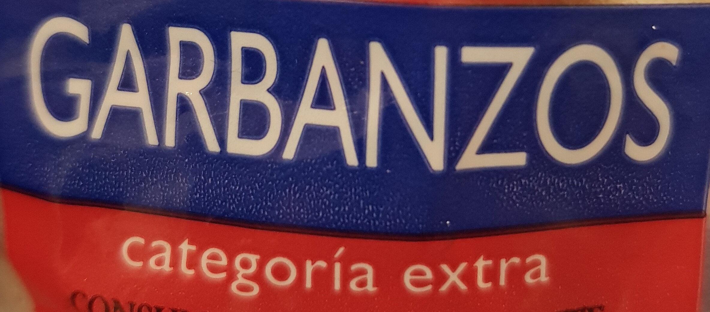 Garbanzos - Ingredientes