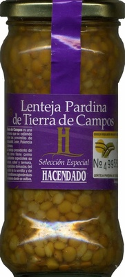 Lenteja pardina de Tierra de Campos - Producto - es
